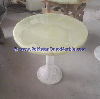Polished Light Green Onyx Table Tops Collection Product On Alibaba