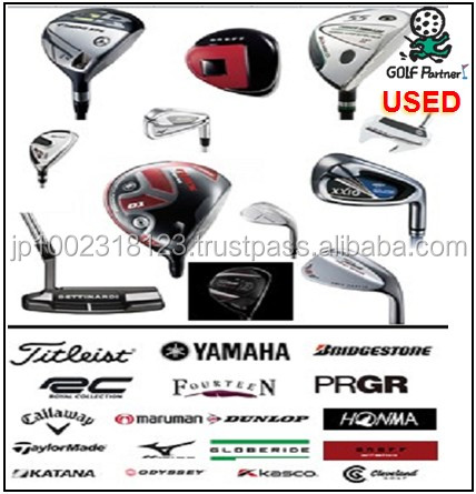 Hot-selling and Various types of weight of the golf ball and Used golf club for resell , deffer model also available