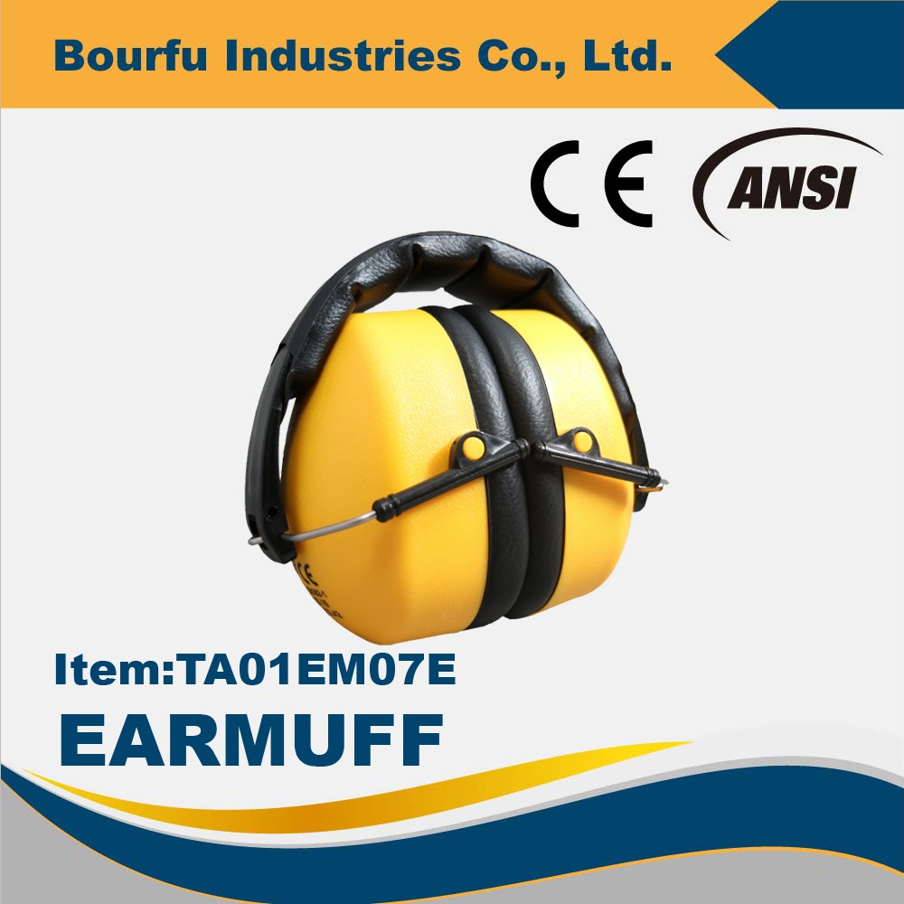 high quality industrial ear cap earmuffs CE EN352-1