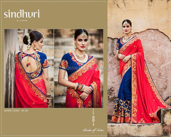 Buy Designer Saree With Heavy Work Blouse Online - Buy Sarees ... be16dc76f9