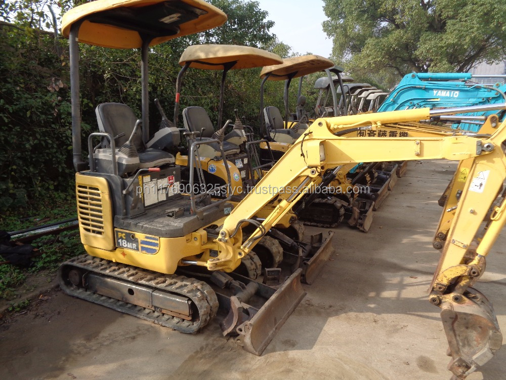 Used Excavator Komatsu PC18MR with imported engine