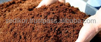 Coir pith for soil less cultivation
