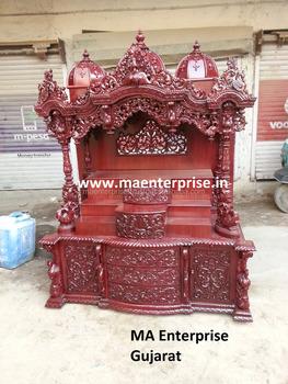 Superb Mandir Wooden Temple Design For Usa Home