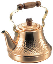 Dimpled Copper Tea Kettle Classy