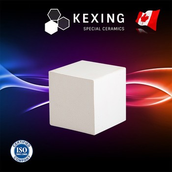 Compact Cordierite Honeycomb ceramic substrate