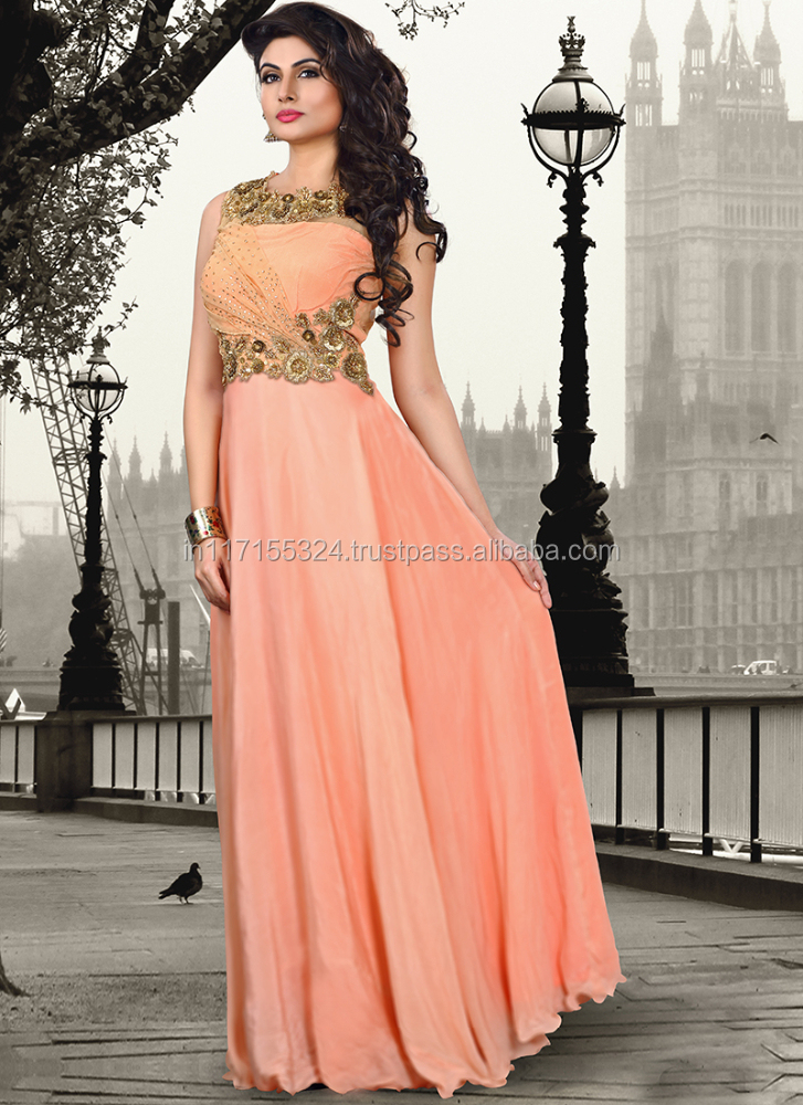 Latest Design Ladies Long Formal Evening Gownonline Store Buy
