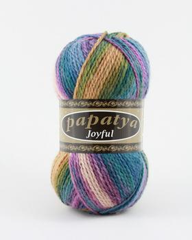 Wool Hand Knitting Yarn Papatya Joyful 400-23