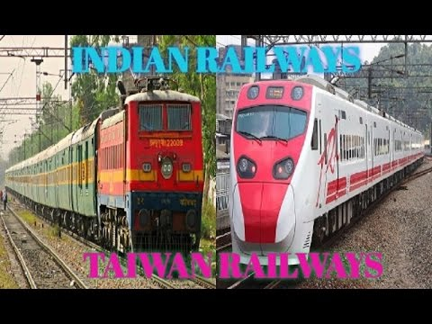 Indian Railways Vs Taiwan Railways Compilation ||FULL COMPARISON|| [ HD 720P ]
