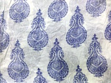 Hand Block Print Organic Cotton Fabric