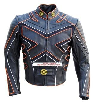 Wolverine Hugh Degli Uomini Di X Giacca Uno Pelle Jackman Moto wnOym8PvN0