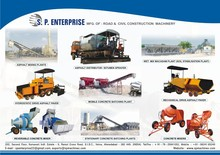 Asphalt Mixing and Pavement Construction Machines