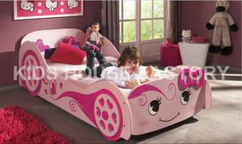 Love Bedpink Bede1p2 Mdf Car Bedkids Bed Buy Girl Twin Bed