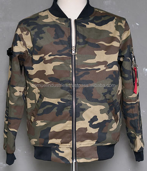 Camo Design Down Bomber Jacketeuropean Army Design Bomber Jackets ...