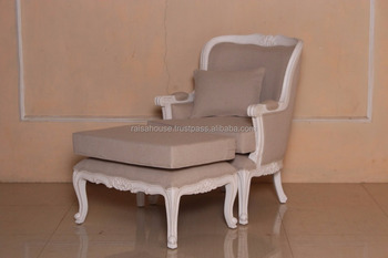 French Furniture Isg 092 Hb Camlin Estate Bergere Chair Loose Cushion 1 Pillow