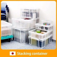 High quality and Reliable plastic storage boxes for screws Container with Functional made in Japan