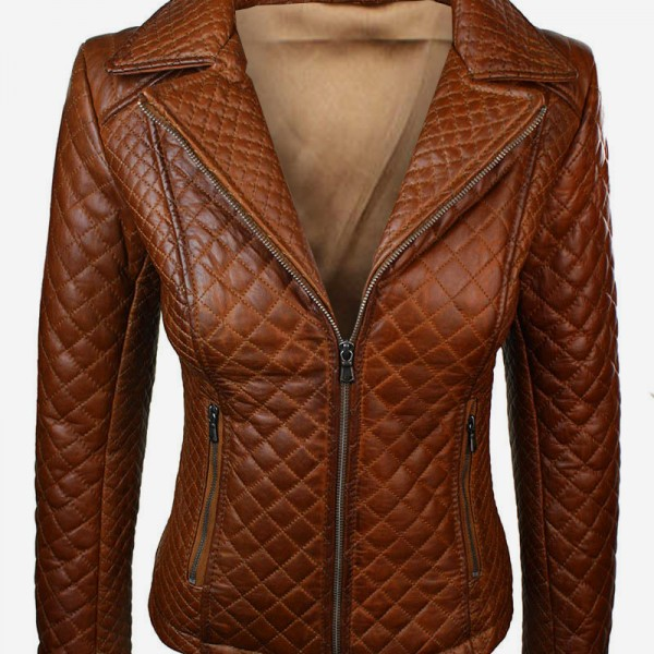 Nwt Green Brando Hooded Hood Women Ladies Genuine Leather Jacket ...