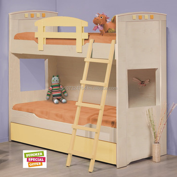CHILDREN DOUBLE BED FROM WOOD