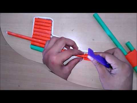 How to Make a paper Shotgun Paper Gun toy gun for kids