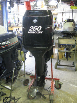 Affordable price for used new mercury 250hp outboards for Used outboard motors nj