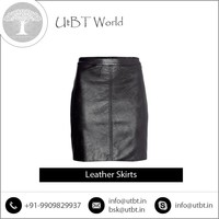 Highly Comfortable 100% Pure Leather Made Skirts Available for Wholesale Trade
