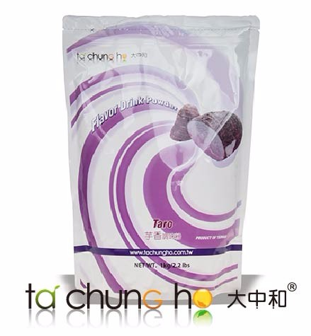 High Quality Taiwan 1kg TachunGho Taro Flavor Drink Powder