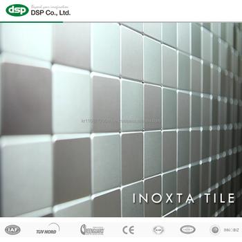 original stainless steel tile inoxta