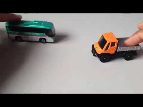 Toy Cars | Toy Car For Kids | Bus Toy Car - Color Bus Toy - Robicar Polis School - Toy Pudding