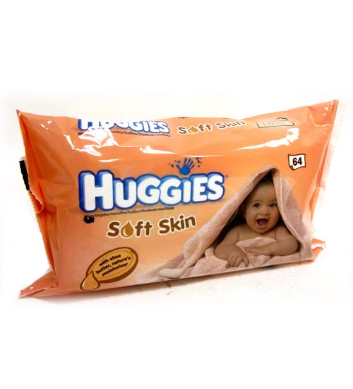 Huggies Wipes Soft Skin 64ct