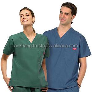 Medical unisex scrubs uniforms
