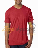 Zegaapparel Custom blank dri fit shirts wholesale crossfit tri blend workout sport t-shirt OEM factory+custom printing