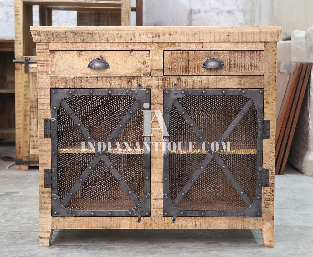Multipurpose Industrial Furniture   Mango Wood Cabinet  Form Indian Antiuqe    Buy Iron Wood Industrial Furniture,Unfinished Wood Cabinets,Unique Rare  Wood ...