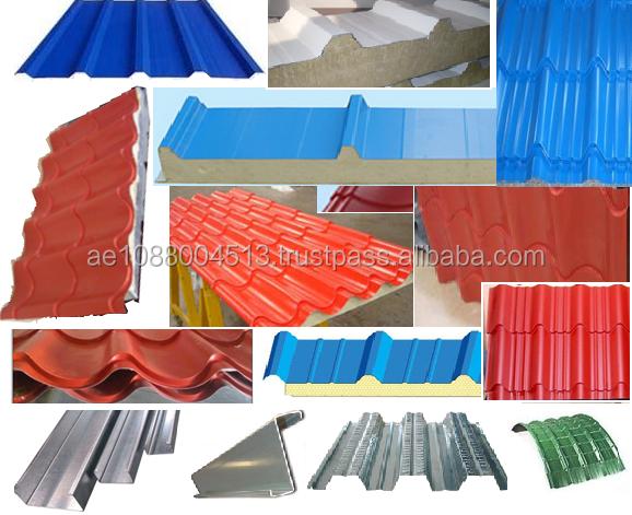 Tile Profile Trapezoidal Corrugated Sheets Dubai 971 56