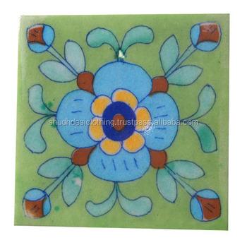 Décor À La Maison En Céramique Matériau Indien Vintage Bleu Carreaux De  Poterie - Buy Carreaux Décoratifs Faits À La Main Indiens,Carreaux De ...
