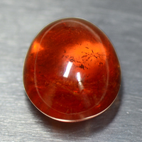 15.00 Cts Natural Top Fanta Orange Spessartite Garnet Loose Gemstone Oval Cabochon