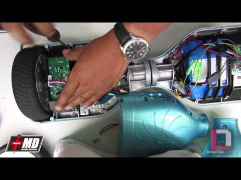 Smart Balance board wheel replacement
