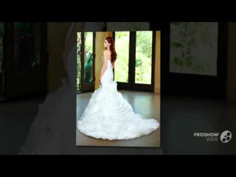 2016 Classic Sweetheart Beaded Plus size Mermaid Wedding Dresses Ruffled Organza Chapel Tr