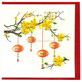 Happy New Year Greeting Cards In Paper Crafts - Buy Happy New Year ...