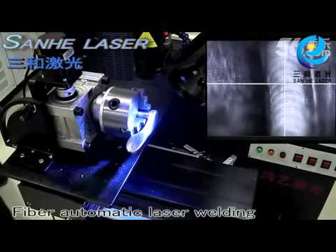 Fiber automatic laser welding machine stainless steel welding