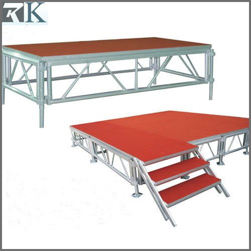 New Arrival customize drum stage riser