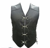 Buy Biker Vest Real Cowhide Leather with in China on Alibaba.com