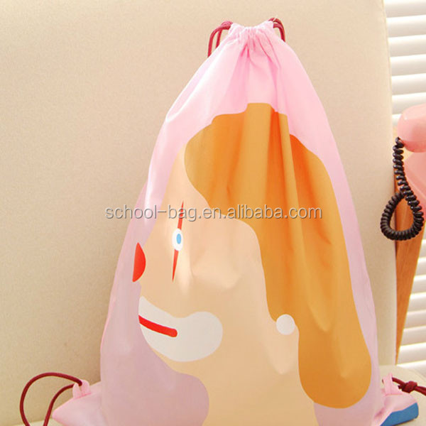 Wholesale Cheap Calico PVC Drawstring Bag With Customer Designed ...