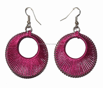 Fashion Indian Thread Earrings Online From India