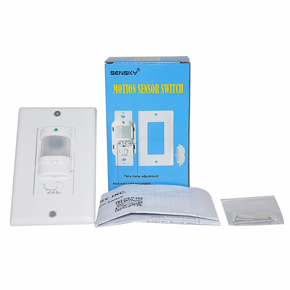 Wall Or Ceiling Occupancy Light Switch 3 Wire 0 Wace Pir