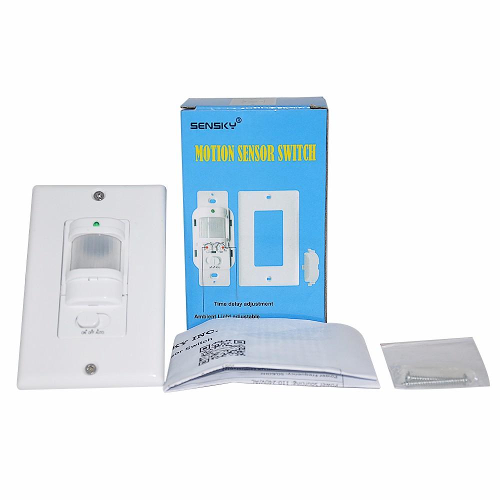 Smart Sensor Switch 800 Watts,Motion Sensor Light Switch With 3 ...