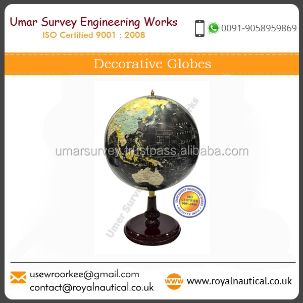 Mini Decorative World Globe, Beautiful Decor World Globes, Different Designs World Globes