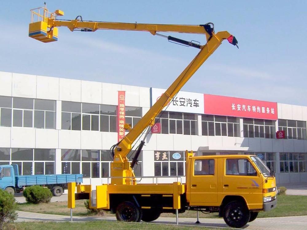 20 ton hydraulic truck crane knuckle boom truck mounted crane for sale
