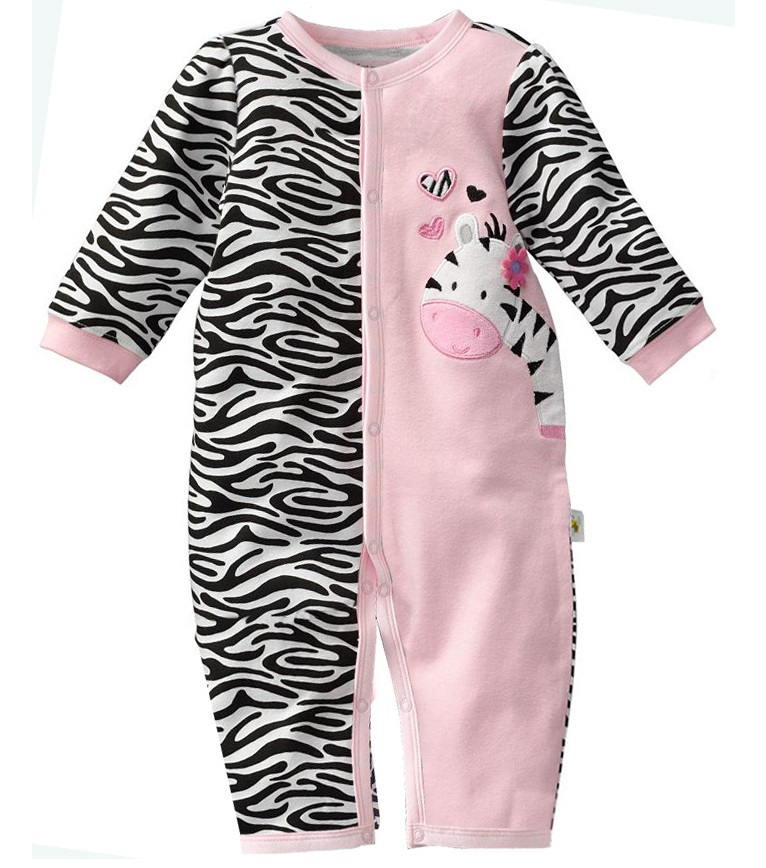 4e54a6de2a3b Detail Feedback Questions about Zebra Baby Rompers Baby Girls ...