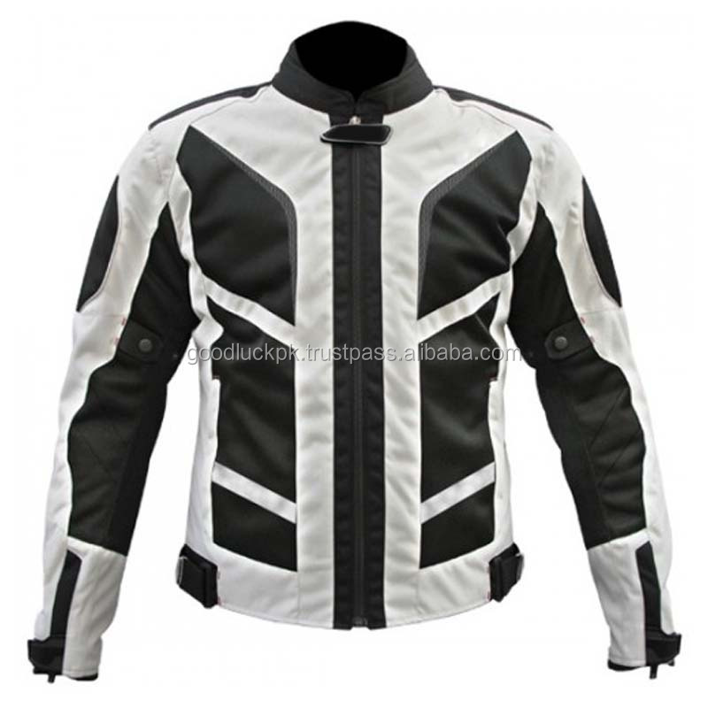 wholesale codura jackets - Codura Motorcycle Jacket with CE Body Armor Street Bike