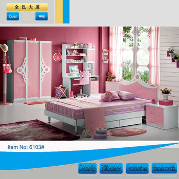 New Style Mdf Kids Used Beds For Sale 6103