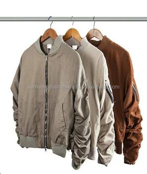 Export Cloth Made Wholesale Bomber Jacket 2017 New Fashion Men